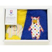 日本製 今治 毛巾口水巾2set 禮盒