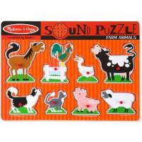 sound puzzle 動物