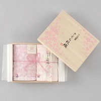 日本製 今治謹製 桜紋織 毛巾2張入