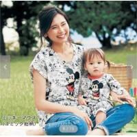 DISNEY  媽媽comicT-shirts