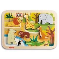 予約販売 Wood puzzle 動物園