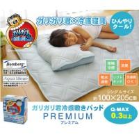日本大人気 冷感pad(GARIGARI)100×205cm