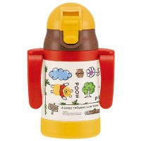 两手保冷baby stainless mug(POOH)