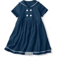 水兵風味女装連衣裙