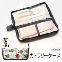 Disney mickey 餐具小包袋