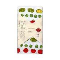 【日本制】 Japanese Style 夏日野菜圖案紗巾