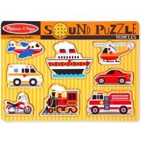 sound puzzle 交通工具