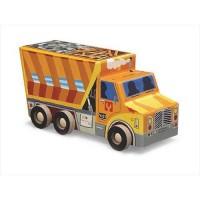 BOX Puzzle 48piece Dump truck