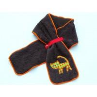 日本製 今治 可愛動物圍巾