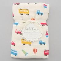 日本製mini 浴用紗布毛巾(交通工具)