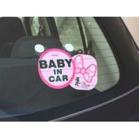 Disney Minnie 蝴蝶結 Baby In Car
