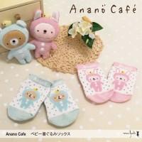 日本製【Anano Cafe】baby socks