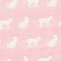 日本製 Cream Gauze 温柔六重纱布大毛巾 約68x130cm  粉紅色