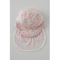 日本製 baby flower swimcap