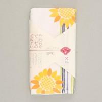 【日本制】 Japanese Style 向日葵圖案紗巾