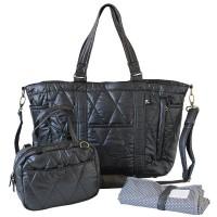 多層間隔媽媽袋(內置小袋子及換尿片墊)