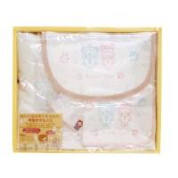 日本製anano cafe 今治纱布礼盒 粉紅色