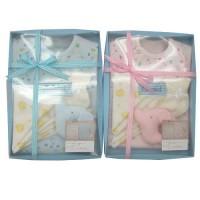 日本製 小鳥款式新生児礼物5SET