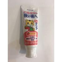 日本製 小朋友用巧虎牙膏70g