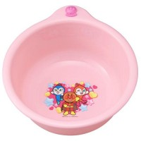 日本製 面包超人洗澡桶 粉紅色