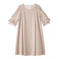 (LOVE MIC)【授乳口付】春天顏色可愛連衣裙