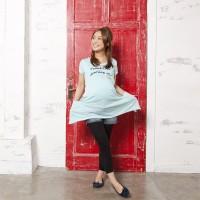 Mammy Luna 産前産後Tshirt(BLUE) MSize