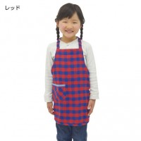 KIDS 格子圍裙