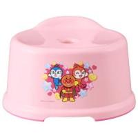 日本製 麵包超人小孩洗澡椅子 粉紅色
