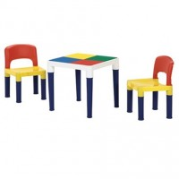 Kids 2way table and Chair set (100PCS block)