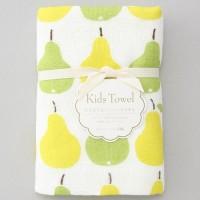 日本製mini 浴用紗布毛巾(pear)