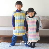日本製 OVLOV 六重紗布睡袋 藍色 星星