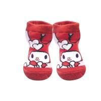 Sanrio Melody 紅色 初生襪子