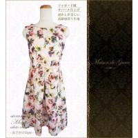 日本 Maison de Grace  日式親子連衣裙 - Marie White -【媽媽裝 ONLY】