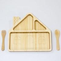 HOUSE'14 PLATE SET 日本竹制 屋形餐具SET