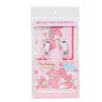 日本制 Sanrio Melody 腰包手帕套裝