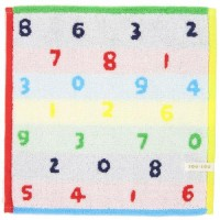 SOU・SOU SO-SU-U五彩色毛巾手帕(約25×25cm)