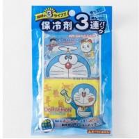 日本製 DORAEMON 保冷剤 3連pack