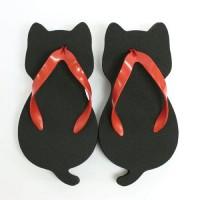 【大人気商品】日本製猫型涼靴