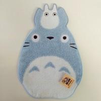 龍貓型 多用途手巾吸汗巾 藍色