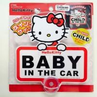 日本制 Sanrio Hello Kitty Baby In The Car
