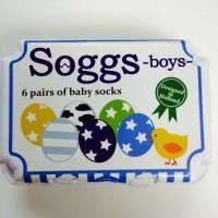 盒裝蛋型BB襪子(6對入) 男孩款