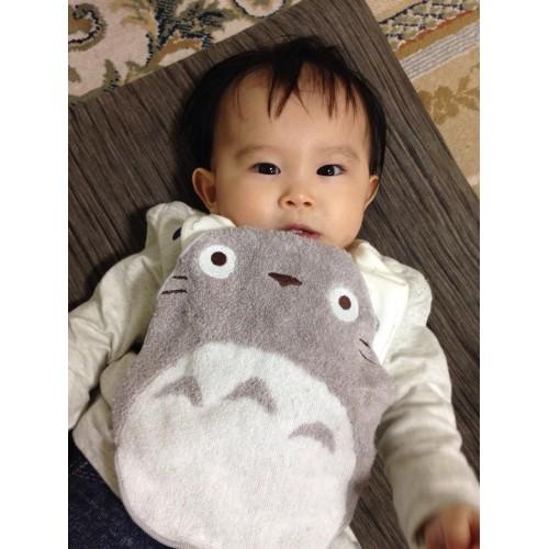 龍貓型 多用途手巾吸汗巾 灰色